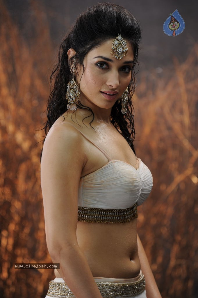 Tamanna Hot  In White Bra Photos Y Looks